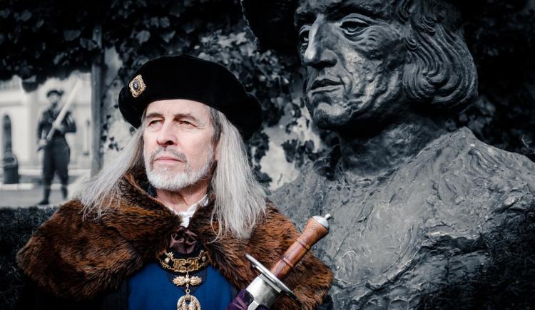 Hubert Krexhammer als Maximilian I. (© Hubert Krexhammer)