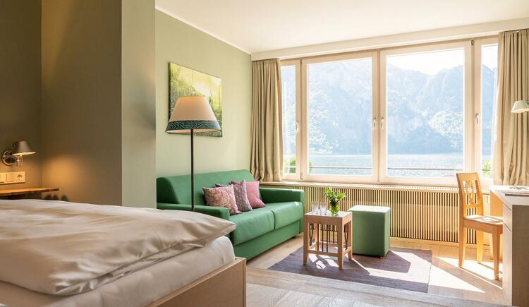 Mini Suite mit Seeblick Hotel Post Traunkirchen (c