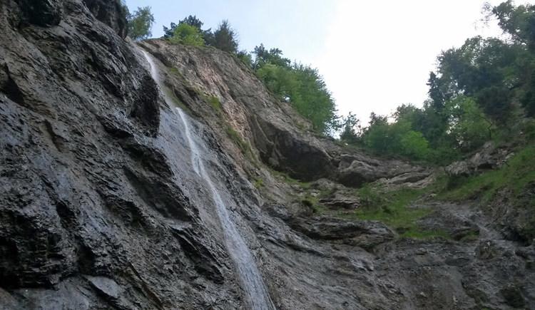Nixenfall - Wanderung ab Weißenbach am Attersee (© Johanna Kiebler)