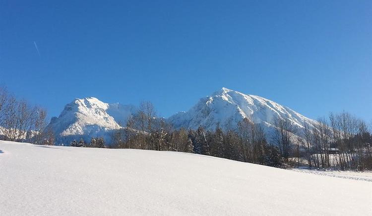 Pyhrgasblick im verschneiten Oberweng