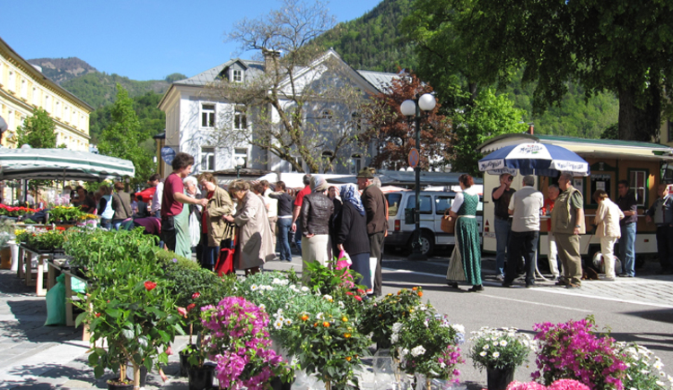 Wochenmarkt in Bad Ischl (© ww.badischl.at)