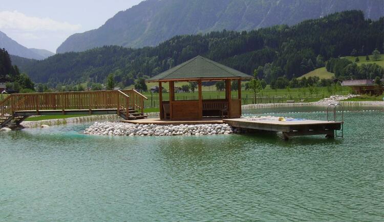 Badeseeanlage in Edlbach (© TVB Pyhrn-Priel)
