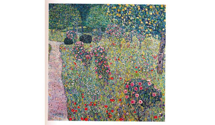 Obstgarten mit Rosen 1912