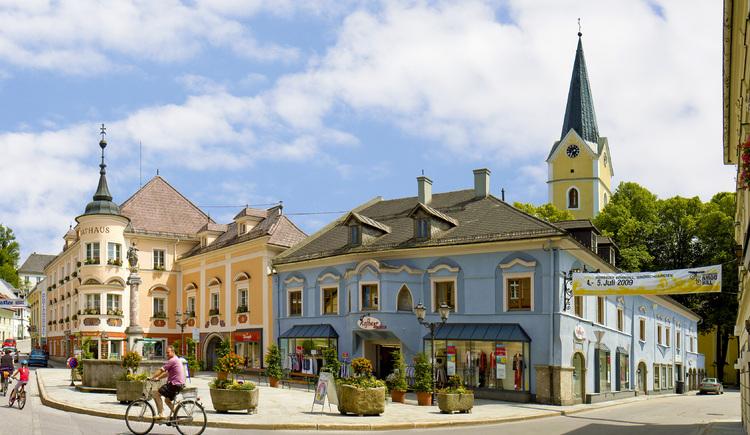 Marktplatz Windischgarsten (© TVB Pyhrn-Priel/Bruno Sulzbacher)