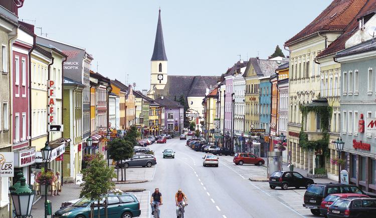 Stadtplatz Mattighofen (© Manfred Feßl Mattighofen)