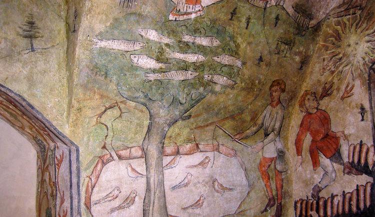 Fresken Ostermiething (© Seelentium)
