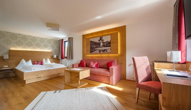 Deluxe-Doppelzimmer (© Hochlackenhof)