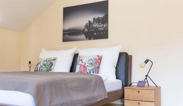 Auf diesem bild sieht man ein weiteres Schlafzimmer der Villa Anna.