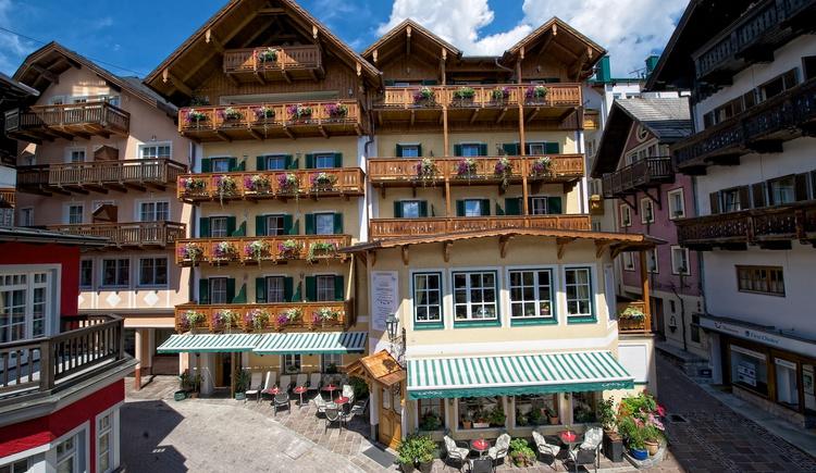 Hausansicht Hotel Zimerbräu (© WTG)