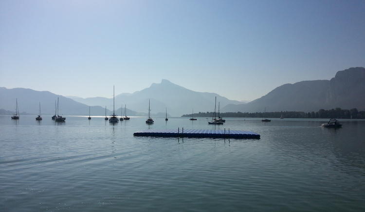 summertime at Mondsee (© Sommer in Mondsee, www.leitnerbraeu.at)