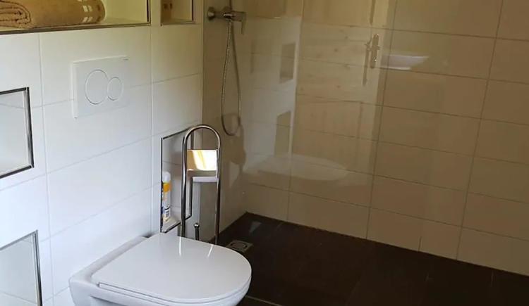 WC & Dusche (© Raffelsberger)
