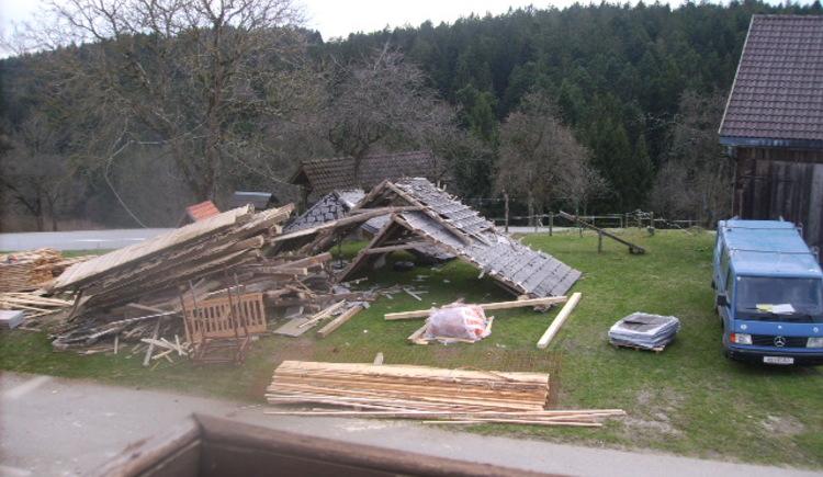 Der alte Dachstuhl