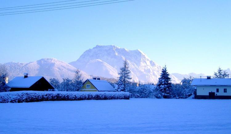 Winterstimmung in der Gemeinde Pinsdorf (© Gemeinde Pinsdorf)