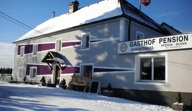 Gasthaus Hinterkörner - Winter (© Gasthaus Hinterkörner)