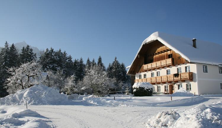 Winter beim Pöllmannbauer