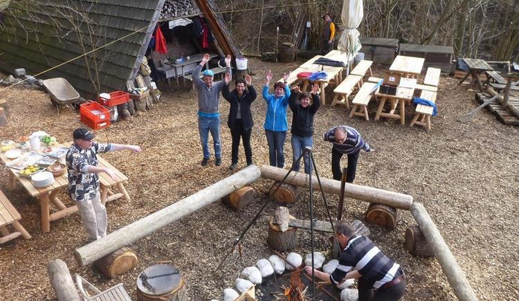 Abenteuercamp/ Holzknechthütte (© Abenteuer Management)