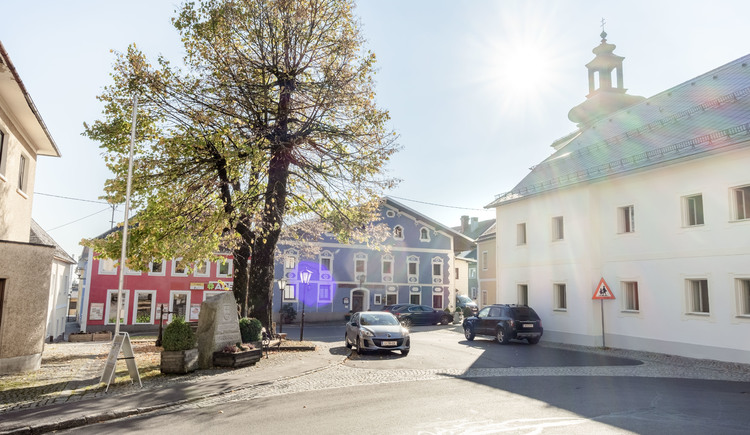 Tourismusbüro am Gemeindeamt. (© Stöbich)
