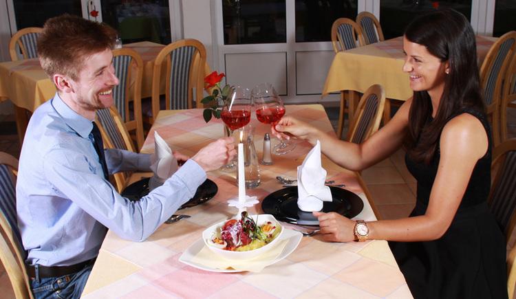 Unser Restaurant im Gasthof Gosauschmied. (© Hotel Gasthof Gosauschmied)