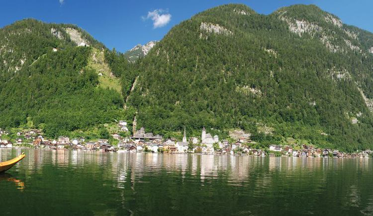Panorame mit Plätte. (© Kraft Hallstatt)