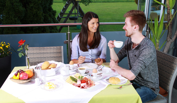 Frühstück im Gasthof Gosauschmied. (© Hotel Gasthof Gosauschmied)