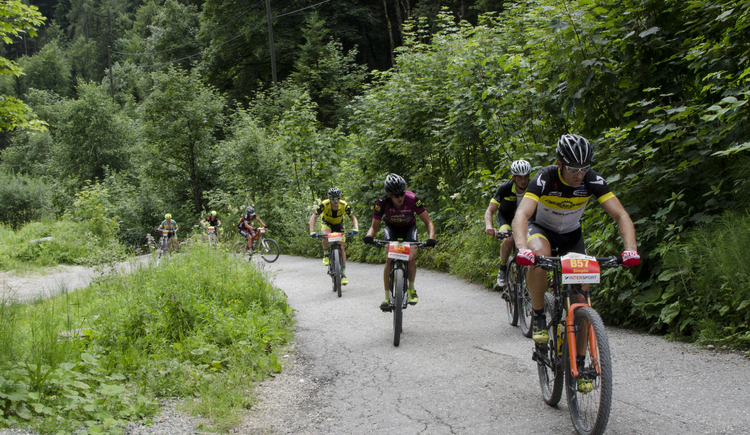 Das Marathon Highlight Salzkammergut Mountainbike Trophy. (© © Dachstein Salzkammergut)