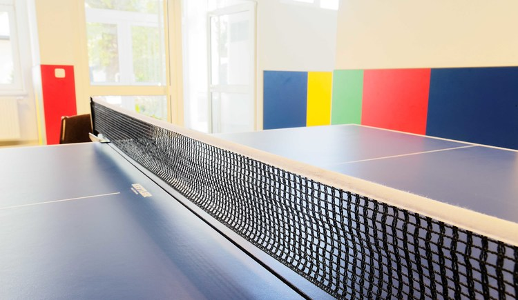 Aktivraum mit Tischtennis. (© Sammer)