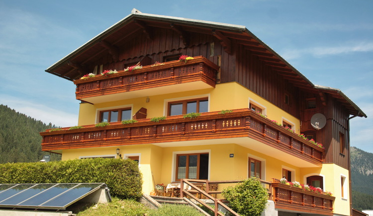 Fühle dich wohl in traumhafter Lage in Gosau am Dachstein. (© Elisabeth Grill)