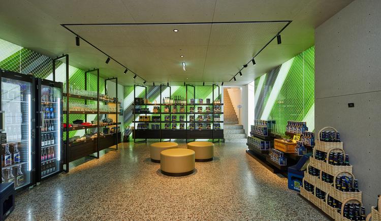 Shop im Besucherzentrum (© Foto Wimmer)