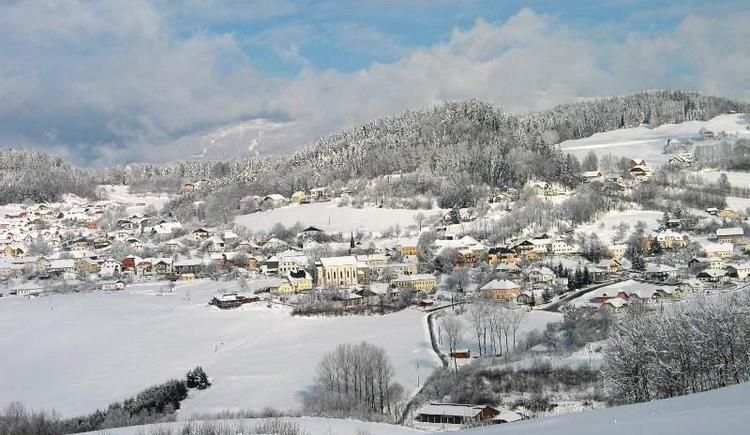 Blick auf Julbach im Winter (© Privat)
