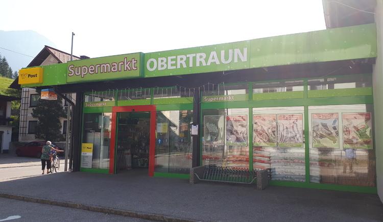 Ansicht des Supermarkets