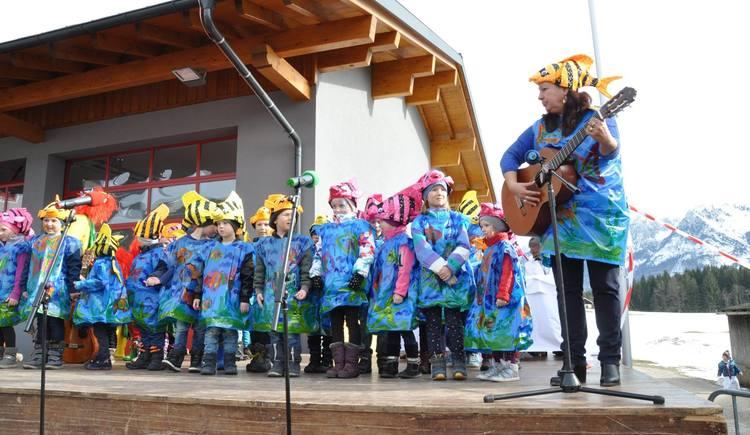 Kinderfasching in Rußbach. (© SV St. Wolfgang)