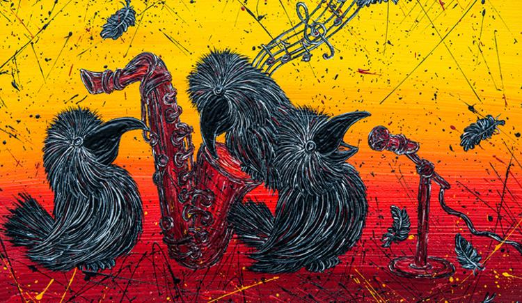 Glückliche Pechvögel von Karoline Schodterer (© Karoline Schodterer)
