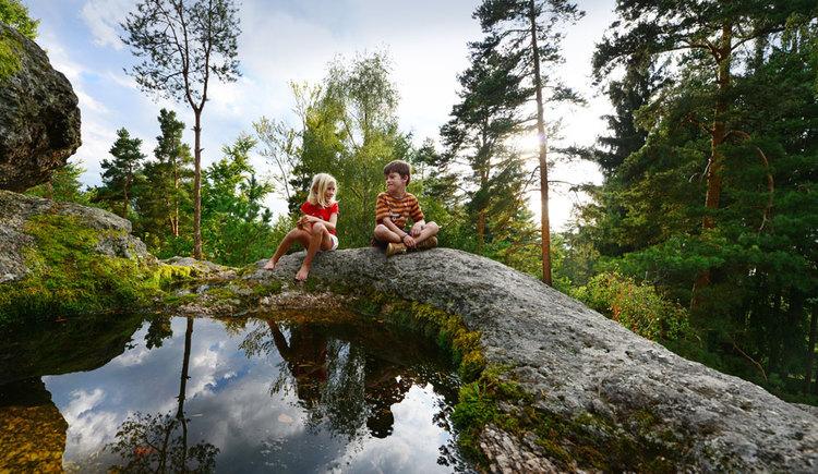 Tolle Entdeckungen entlang wunderschöner Wanderwege (© OÖ Tourismus/Röbl)