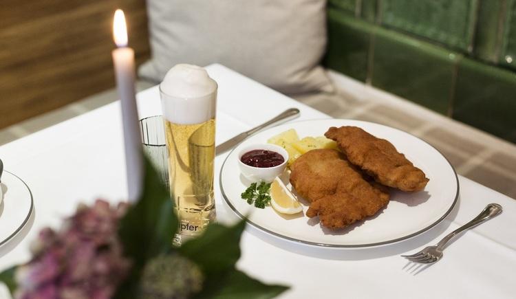 Schnitzel. (© Hotel Aichinger)