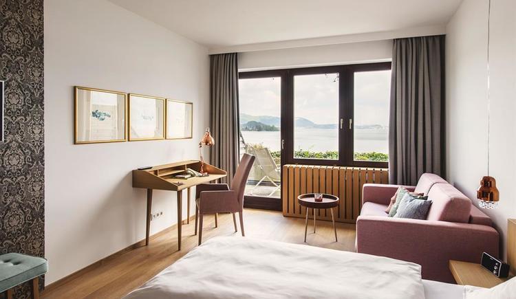 Mini Suite mit Balkon & Seeblick (© (c) www.dastraunsee.at)