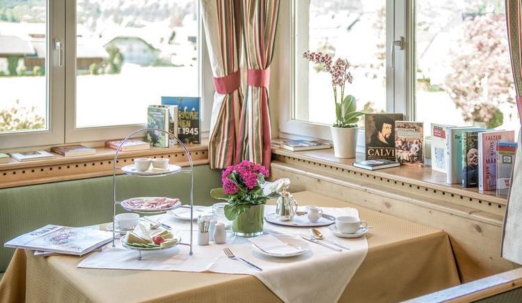 Frühstückstisch im Hotel Garni Sonnleitn