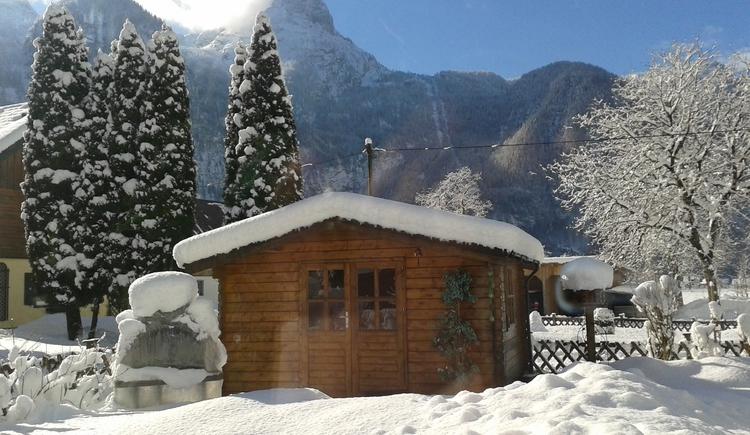 Gartenhütte. (© J. Lindemann)
