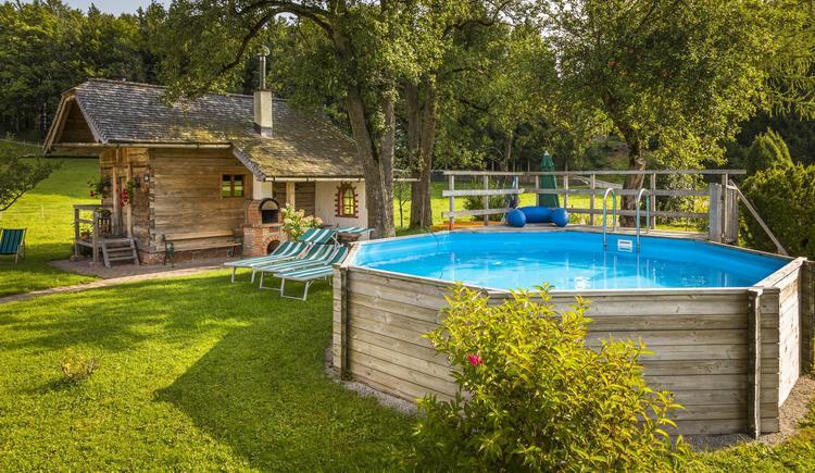 Garten Sommer- Pool, Droatkasten