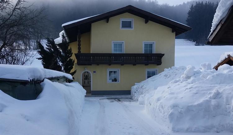 Haus am Gitzen - Winter