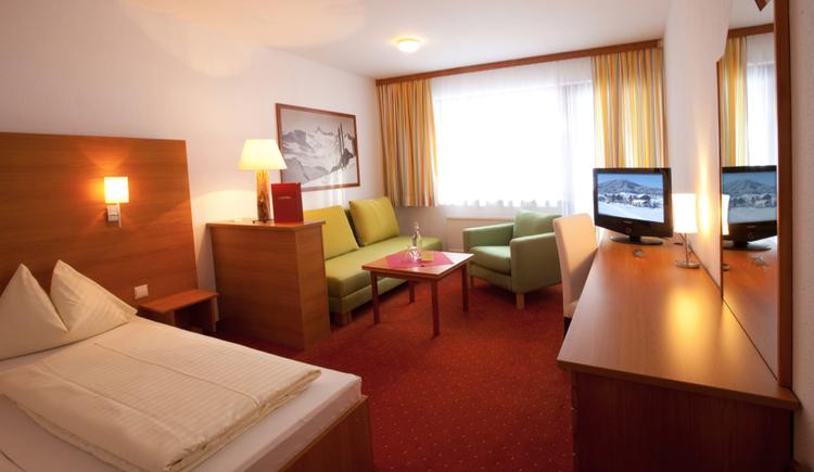 Hotel Gosau Zimmer. (© Vitalhotel Gosau)