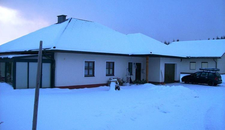 Haus Hermine im Winter (© privat)