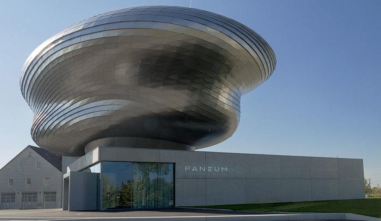 Außenansicht PANEUM - Wunderkammer des Brotes in Asten. (© PANEUM, Markus Pillhofer)