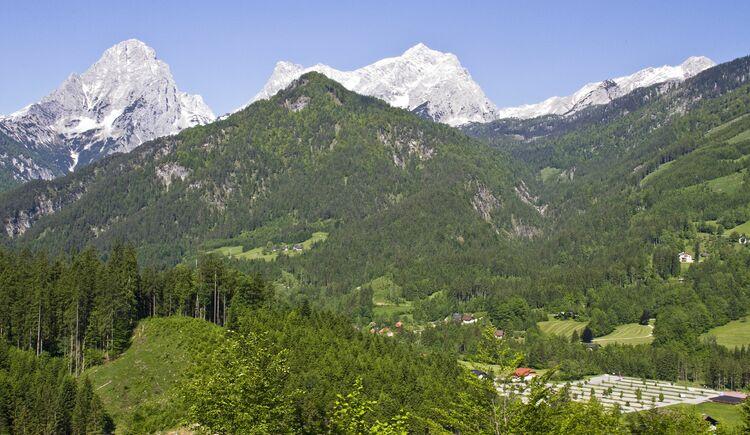 Blick ins Tal (© TVB Pyhrn-Priel/Bruno Sulzbacher)