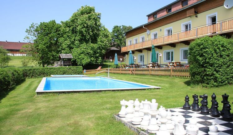 Haus mit Pool (© ***Sportpension Ramlhof)