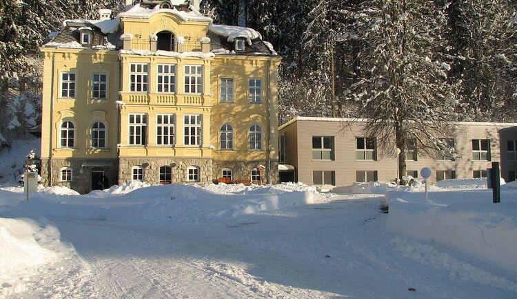 Skiurlaub, Villa Sonnwend, Nationalpark Kalkalpen, Wurzeralm, Windischgarsten. (© Villa Sonnwend)
