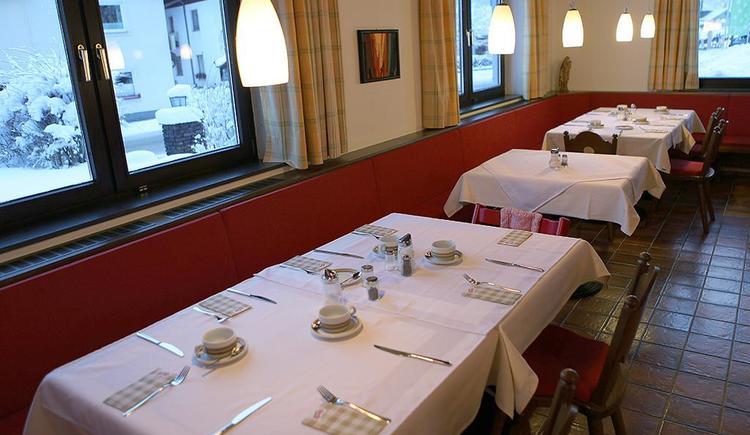 Speisezimmer Hotel Garni Wallner Hinterstoder