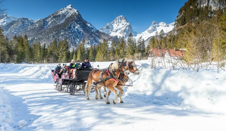 Pferdekutschenfahrt (© TVB Pyhrn-Priel/Daniel Hinterramskogler)