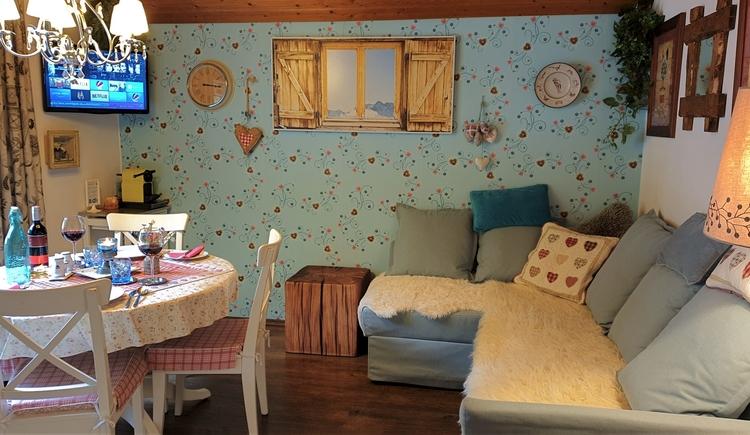 FeWo 1 - Wohnraum (© Landhaus Osborne)