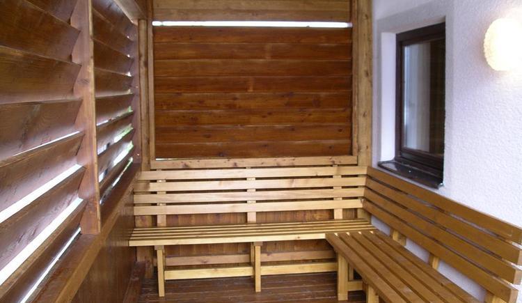 Sauna Balkon