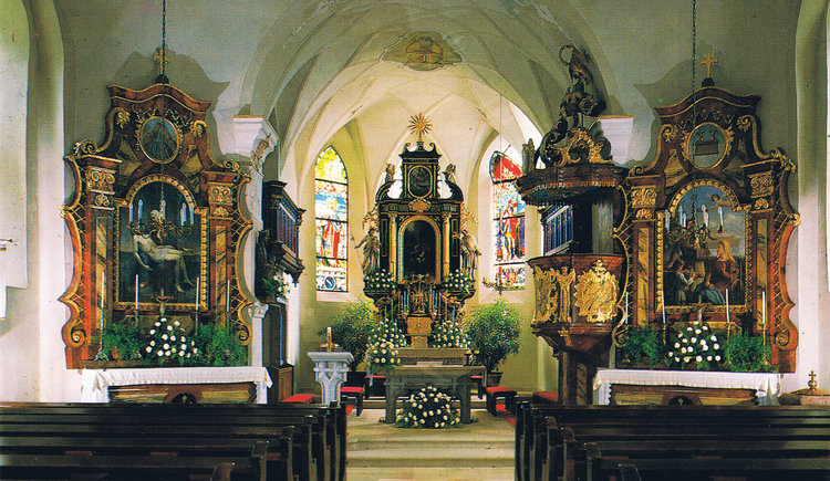 Pfarrkirche Unterach. (© Foto_Goran_Liptanovic)